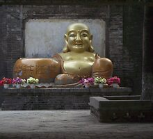 Chinese Budda by COLINxT
