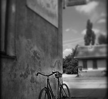 A Step Back In Time - The Bike by Paul Cook