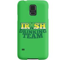 IRISH drinking Team with beer pint and Shamrock Samsung Galaxy Case/Skin