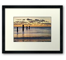 here goes again  Framed Print