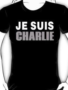 JE SUIS CHARLIE, I AM CHARLIE T-Shirt