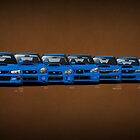 Subaru WRX STi generations by m-arts