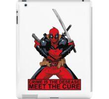 Deadpool - meet the cure #2 iPad Case/Skin