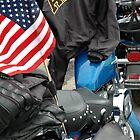 Veteran's Motorcycle by picart