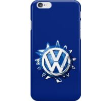 VW look-a-like logo  iPhone Case/Skin
