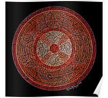 The Wheel Mandala Poster