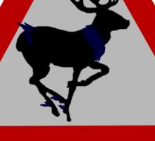 Ravenstag crossing Sticker
