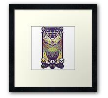 Majora's mask: The four giants Framed Print