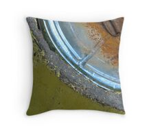 He had an eye of rust Throw Pillow