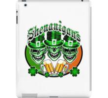 Laughing Irish Leprechaun Skulls: Shenanigans iPad Case/Skin