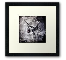 When The World Has Fallen Out Framed Print