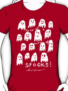'Bunch of Spooks' T-Shirt