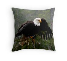 Drying Off Throw Pillow