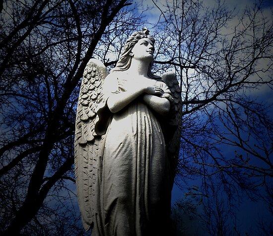 Angel --- cross my heart by Judi Taylor