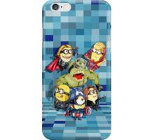 Cute caricature parody comics superheroes Group iPhone Case/Skin