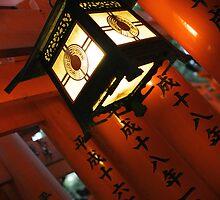 Fushimi Lantern by Kyra  Webb