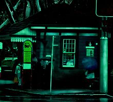 The Sydney Bus Stop by Michael Kienhuis