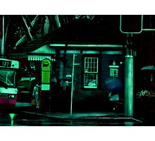 The Sydney Bus Stop Photographic Print