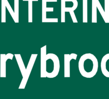 Entering Storybrooke Sticker