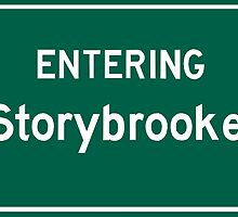 Entering Storybrooke by ashexplodes