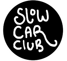 Slow Car Club logo graphic Photographic Print