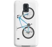 Typographical Anatomy of a Mountain Bike Samsung Galaxy Case/Skin