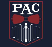 PAC Logo - Red and White by Zachary Metzger