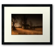 """ Misty Eve "" Framed Print"