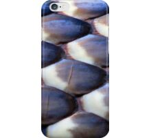 Scales of a Blue-bellied Black Snake iPhone Case/Skin