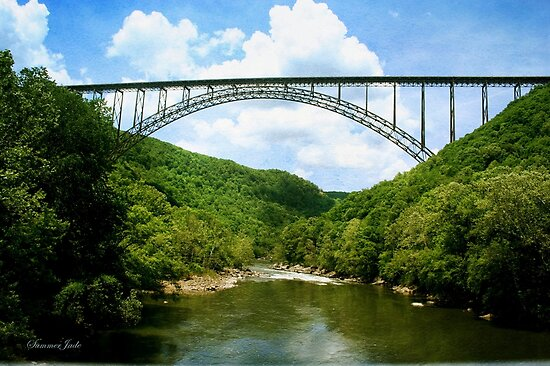 The Bridge Over New River Gorge by SummerJade