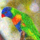 Rainbow Lorikeet III by Imageo
