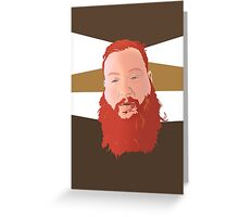 Action Bronson II Greeting Card