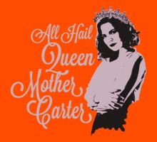 All Hail Queen Mother Carter (Pink) Kids Clothes