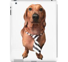 Dachshund Sausage Dog wearing tie iPad Case/Skin