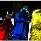 Rainbow Bottles by Deanna Roberts Think in Pictures