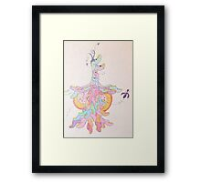 'Oracle/Ventricle' Framed Print