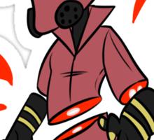 RED Pyro Sticker