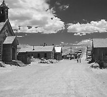Bodie A Ghost Town - infrared by Christine Till  @    CT-Graphics