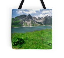 Lünersee, Austria Tote Bag