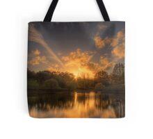 Sunset at Appletree Cottage, Adelaide Hills Tote Bag