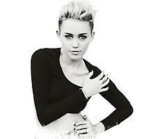 Miley Cyrus Photographic Print