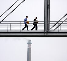 Bureaucracy goes up in smoke by Anima Fotografie