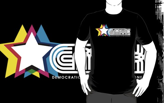 CMYK Republic (Dark) by Charlize Cape