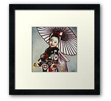 Japanese Girl Framed Print