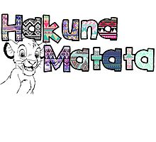 Hakuna Matata - Simba  by liddlelorz