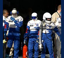 Waiting (Le Mans 2008) by Yves Roumazeilles
