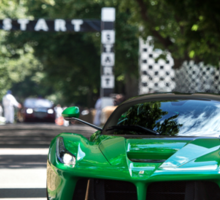 La Ferrari at the Goodwood Festival of Speed Sticker