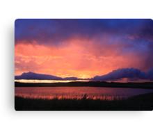 Radiant Sunset No.2 Canvas Print