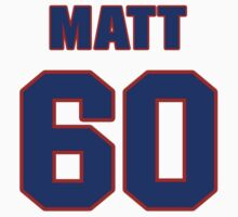 National baseball player Matt Williams jersey 60 T-Shirt