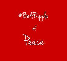 @BeARipple Peace Text by BeARipple